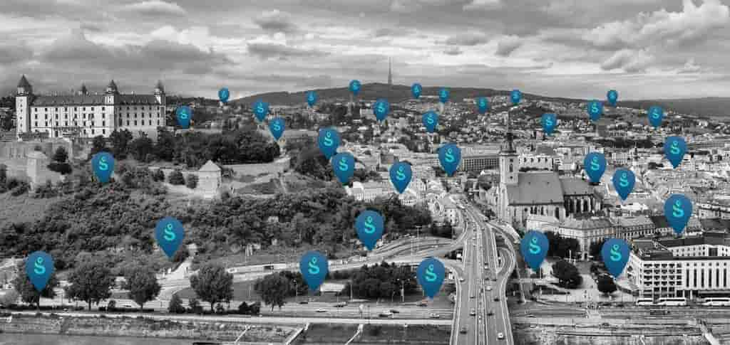 Smart parking in Bratislava | Spotee