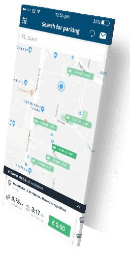free parking map (search for smart parking) | Spotee