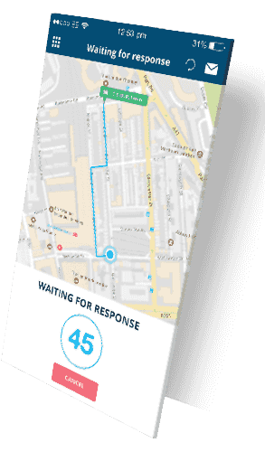 waiting for response (search for smart parking)