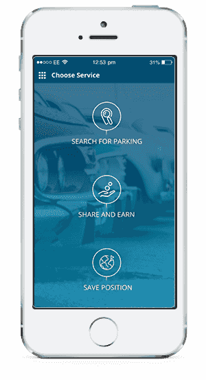 choose spotee service - smart parking | Spotee
